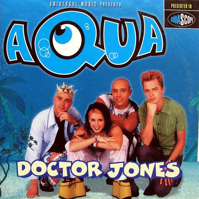 Artwork for Doctor Jones - D-Bop's Prescription Edit by Aqua