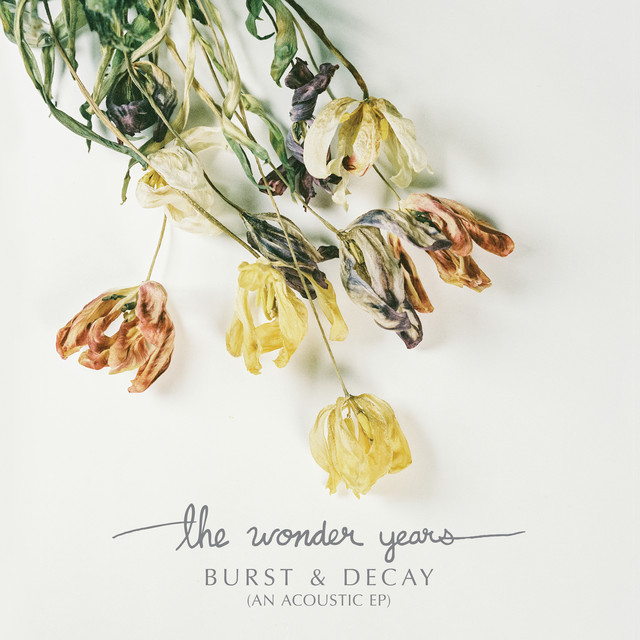 Album cover for Burst & Decay (An Acoustic EP) by The Wonder Years