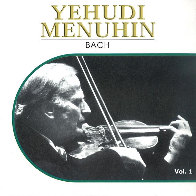 Yehudi Menuhin, Vol. 1 (1932-1936) Albumcover