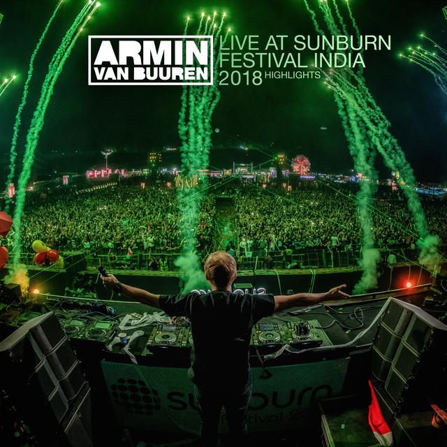 Armin van Buuren Live at Sunburn Festival India 2018 (Highlights) album cover