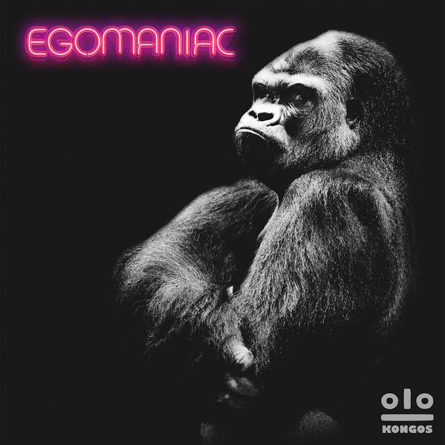 Album cover for Egomaniac by KONGOS