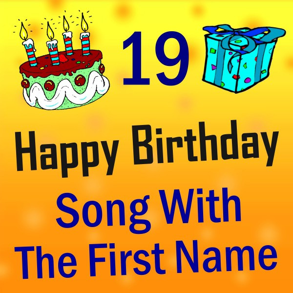 Song With The First Name, Vol. 19 By Happy Birthday On Spotify