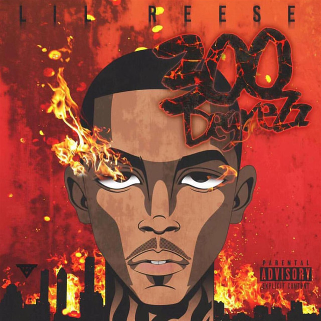 Album cover for 300 DegreZz by Lil Reese