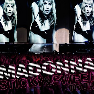 Sticky & Sweet Tour Albumcover