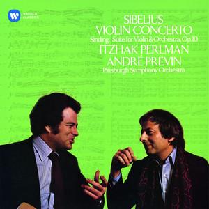 Sibelius: Violin Concerto - Sinding: Suite Albumcover