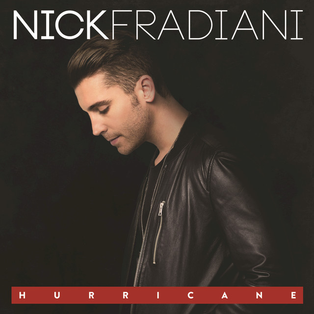 Album cover for Hurricane by Nick Fradiani