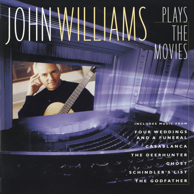 John Williams Plays the Movies Albumcover