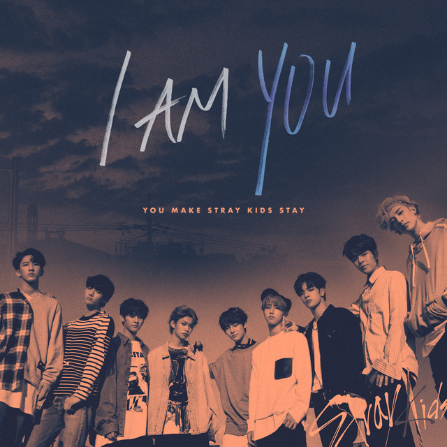 Album cover for I am YOU by Stray Kids