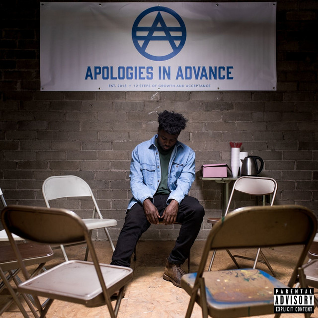 Album cover for Apologies in Advance by Sylvan LaCue
