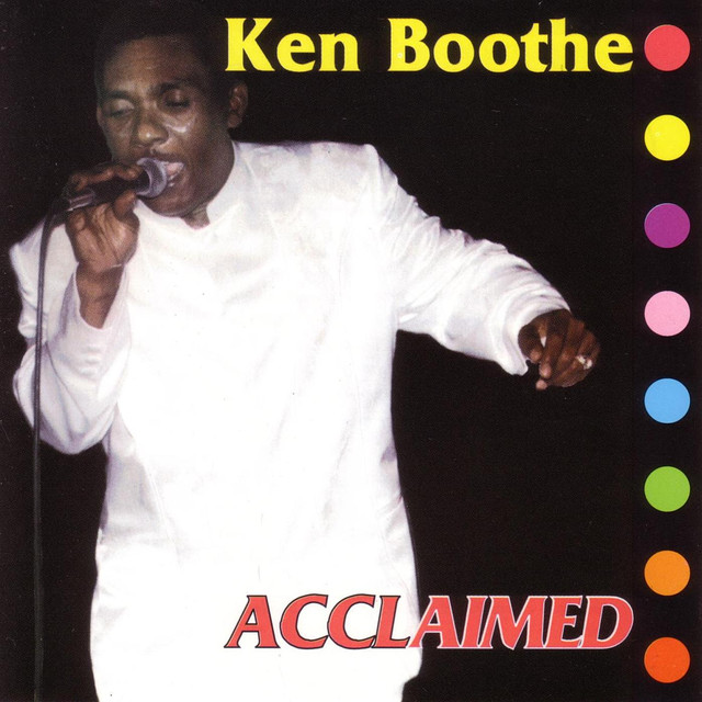 Ken Boothe Acclaimed album cover