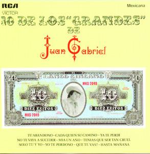 10 De Los Grandes De Juan Gabriel Albumcover