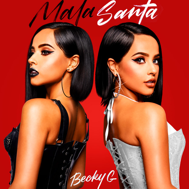 Album cover for MALA SANTA by Becky G