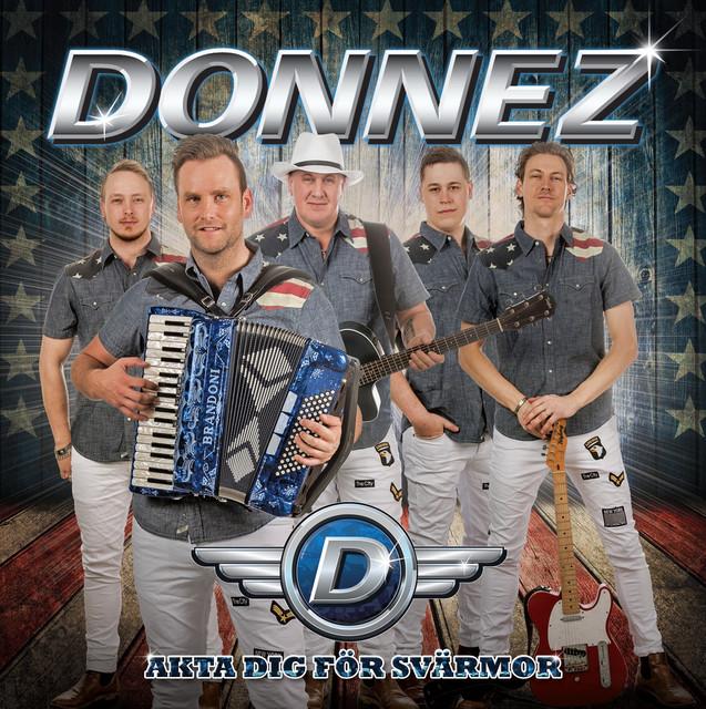Album cover for Akta dig för svärmor by Donnez