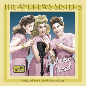 The Andrews Sisters, Artist Unknown Yes, My Darling Daughter cover