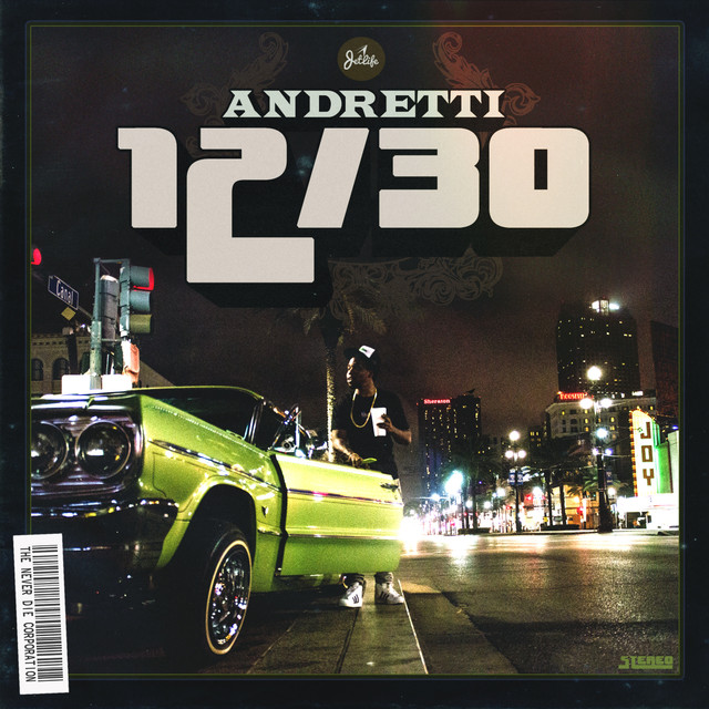 Album cover for Andretti 12/30 by Curren$y