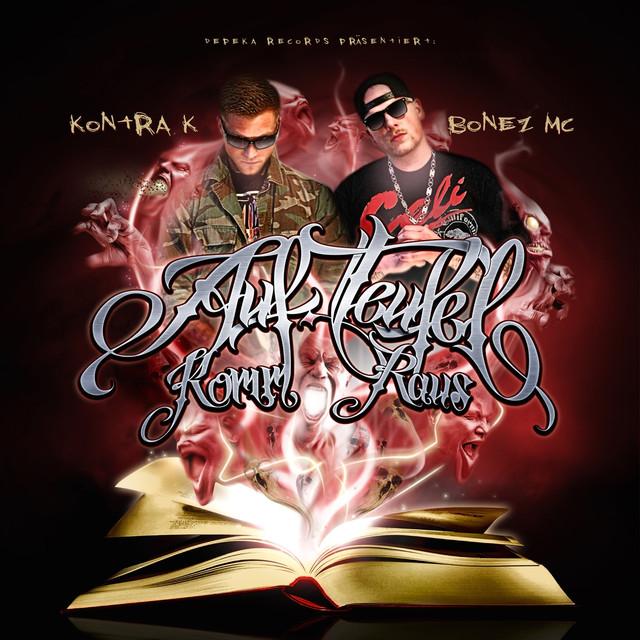 Kontra K, Bonez MC Auf Teufel komm raus album cover