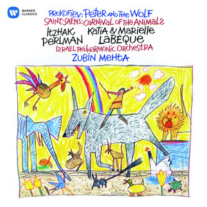 Saint-Saëns: Le carnaval des animaux - Prokofiev: Peter and the Wolf Albumcover