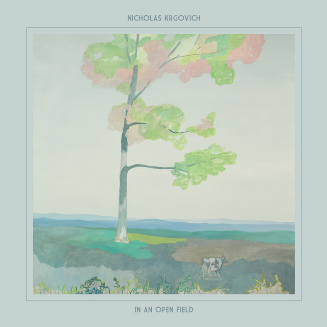 Album cover for In an Open Field by Nicholas Krgovich