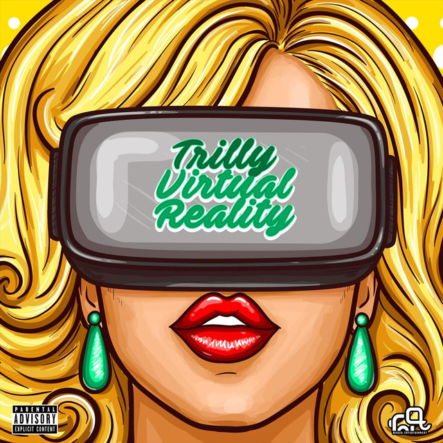 Album cover for Virtual Reality by Trilly