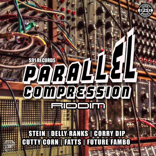 Album cover for Parallel Compression Riddim by Various Artists