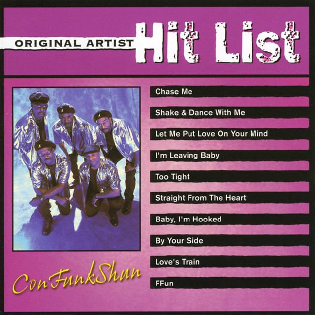 Original Artist Hit List: ConFunkShun