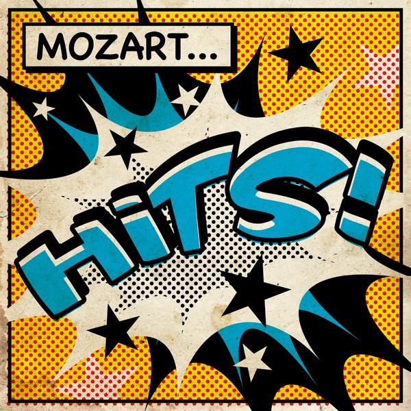 Album cover for Mozart Hits by Wolfgang Amadeus Mozart, Various Artists