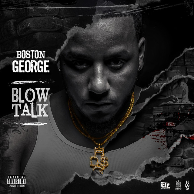 Album cover for Blow Talk by Boston George