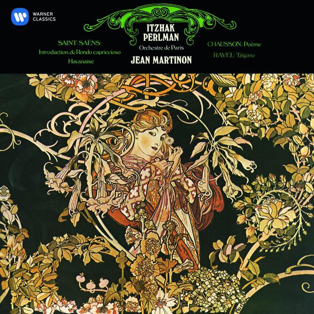 Perlman plays Saint-Saëns, Chausson & Ravel Albumcover