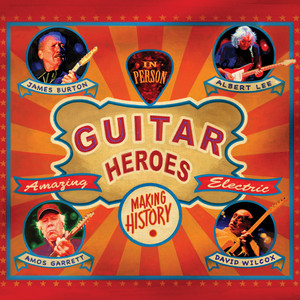 James Burton, Albert Lee, Amos Garrett, David Wilcox Country Boy cover