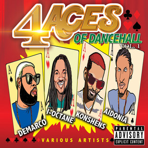 4 Aces of Dancehall Vol. 1 (Raw) Albumcover