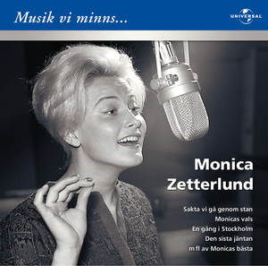 Monica Zetterlund/Musik vi minns Albumcover