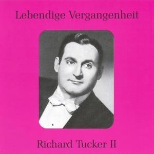 Lebendige Vergangenheit - Richard Tucker (Vol.2) Albümü