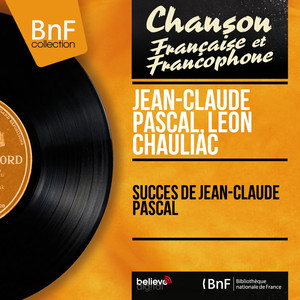 Succès de Jean-Claude Pascal (Mono Version) album
