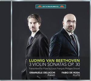 Beethoven: 3 Violin Sonatas, Op. 30 (Arr. L. Drouet for Flute & Piano) Albümü