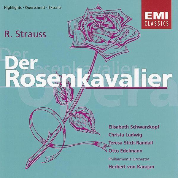R. Strauss: Der Rosenkavalier Albumcover