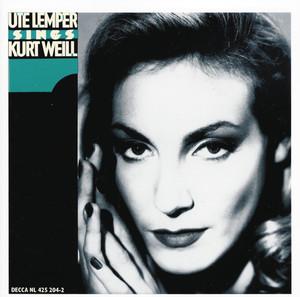 Ute Lemper Sings Kurt Weill album