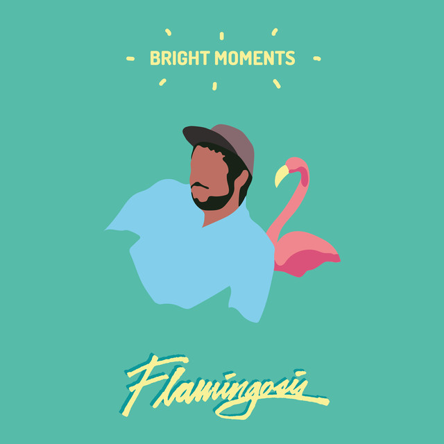 Album cover for Bright Moments by Flamingosis