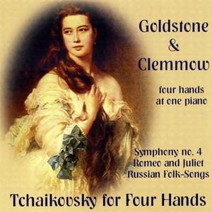 Tchaikovsky for Four Hands Albumcover