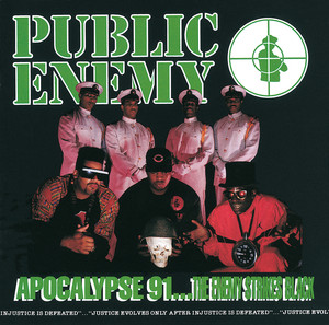 Apocalypse 91… The Enemy Strikes Black Albumcover
