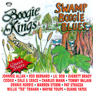 Johnnie Allan, The Boogie Kings The Promised Land cover