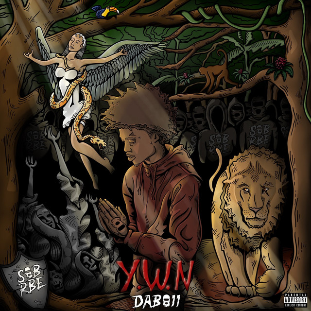 Album cover for Young Wild Nigga by DaBoii