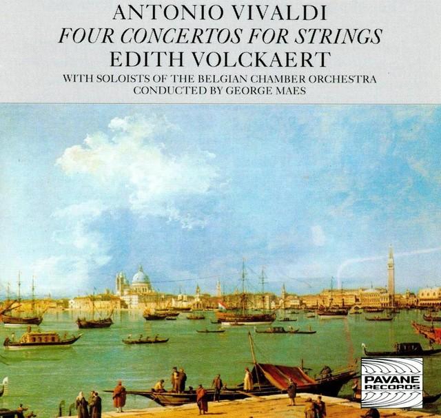 Vivaldi: Four Concertos for Strings Albumcover