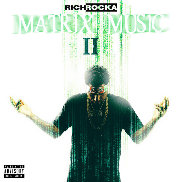 Album cover for Matrix Music II by Rich Rocka