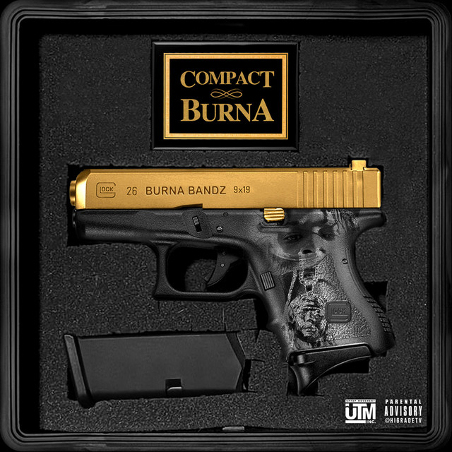 Album cover for Compact Burna by Burna Bandz