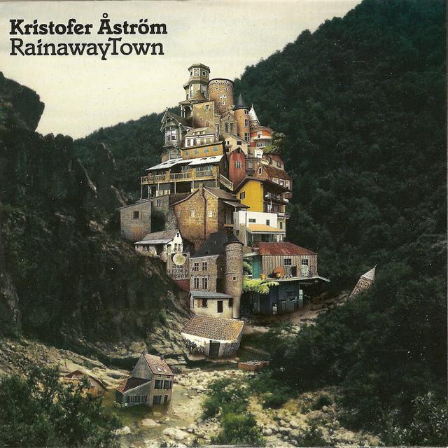 Skivomslag för Kristofer Åström: Rainaway Town