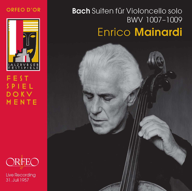 Bach Solo Cello Suites, BWVV 1007-1009 (Live)