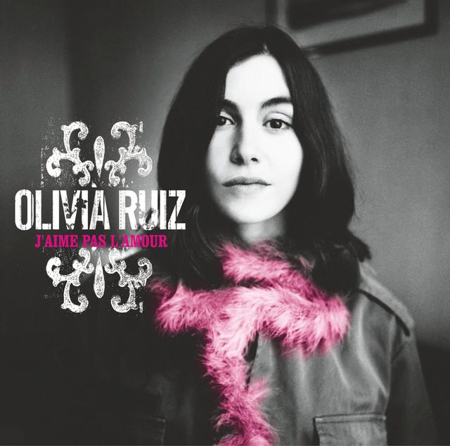 Olivia Ruiz J'aime pas l'amour album cover