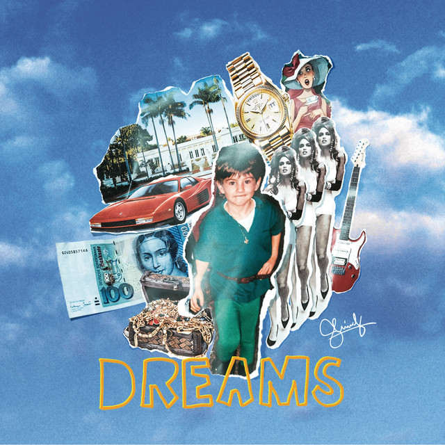 Album cover for DREAMS by Shindy