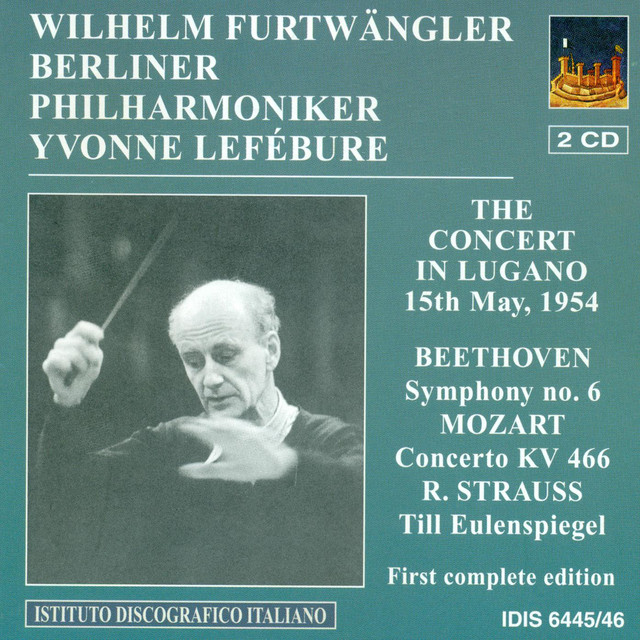 Beethoven, L. Van: Symphony No. 6 / Mozart, W.A.: Piano Concerto No. 20 / Schubert, F.: Symphony No. 8 Albumcover