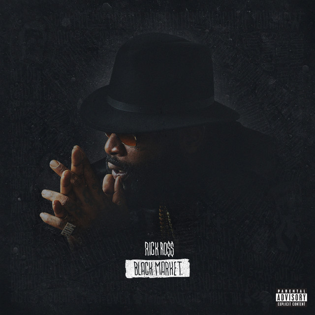 Album cover for Black Market by Rick Ross